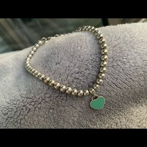 Tiffany & Co Bead Braclet sterling silver